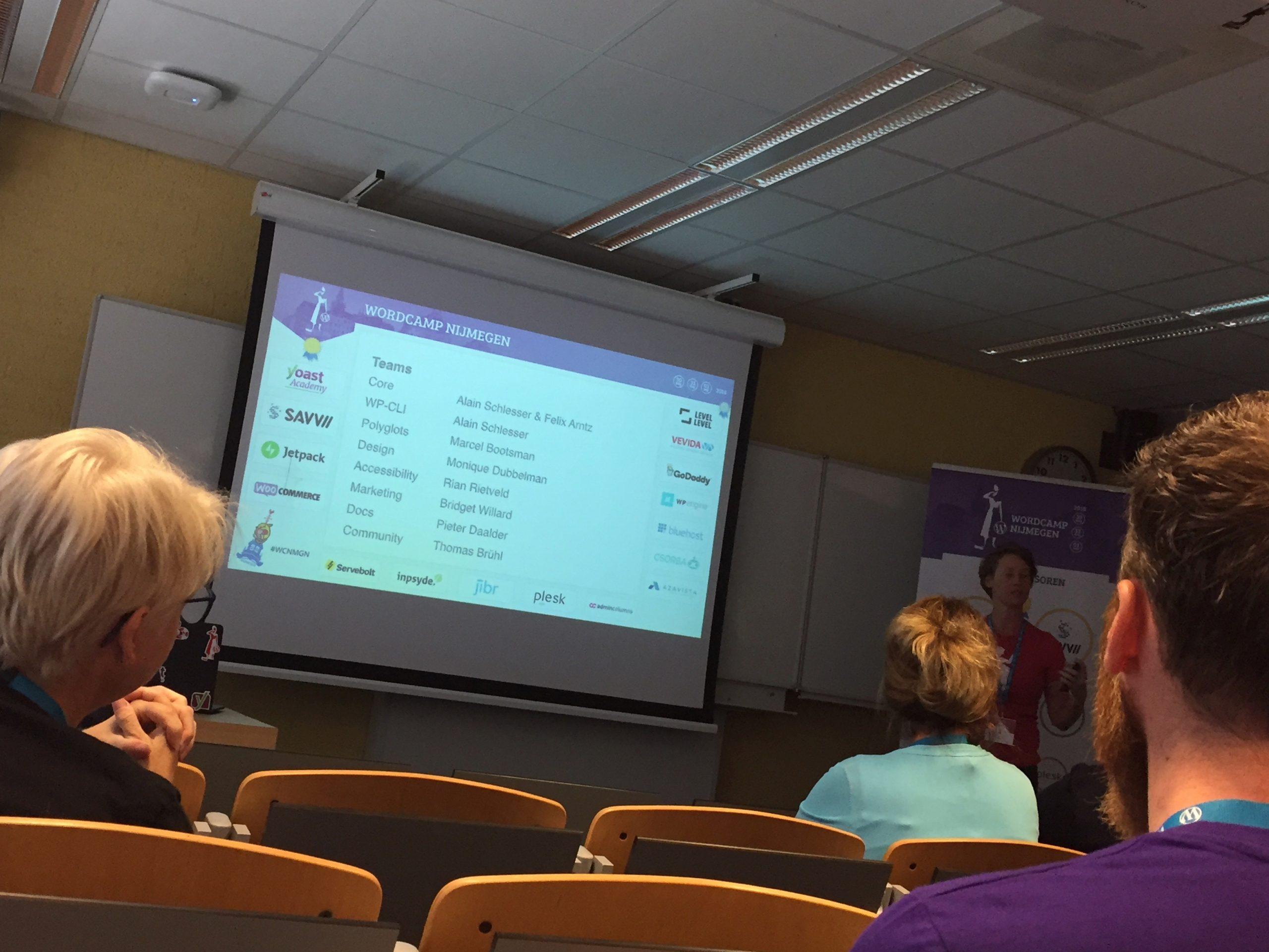 Blijven leren op WordCamp Nijmegen 2018